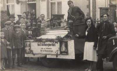 Braderie 1938 - Pompen bij de vleet