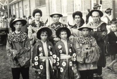 Braderie 1959 - Nationale klederdrachten