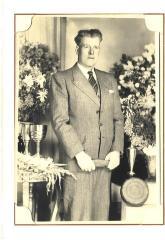 Kampioen krulbol, Jozef De Pauw, 1950