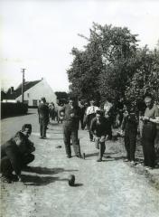 Krulbol in Zomergem, ca. 1960