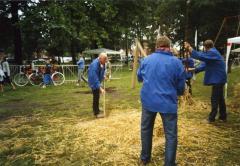 Vlegeldorsers uit Ursel demonstreren hun ambacht