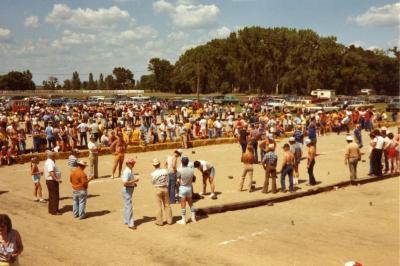 Vlamingen bezoeken grote Amerikaanse krulbolwedstrijd