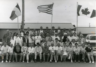 Reis Vlaamse krulbolders naar Amerika en Canada, 1994