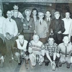 Groep krulbolders, Ertvelde, ca. 1960-1970