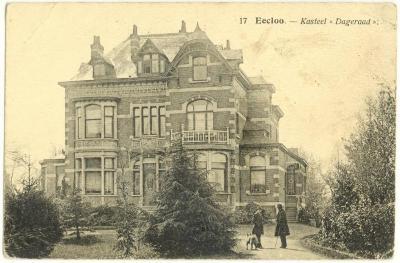 Villa Dageraad (Hotel Shamon), Eeklo, ca. 1910