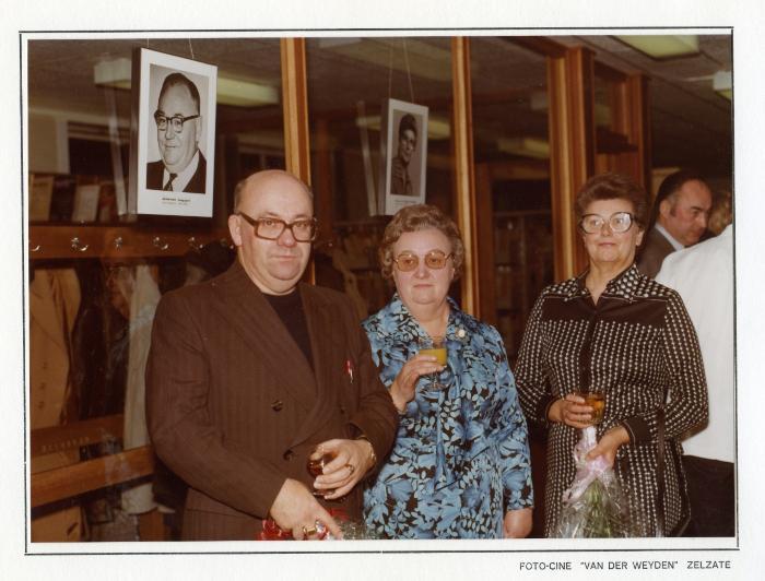 Huldeviering Bibliotheek Zelzate, 1977