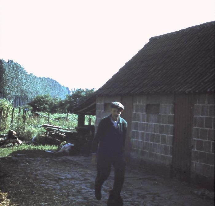Landbouwer Emiel Dossche, Lembeke, jaren 1960