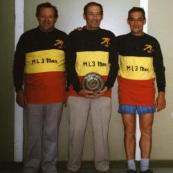 Kampioenen krulbol, ML3 man, 1993