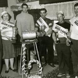 Krulbolders, 6-daagse 1966, Ertvelde,