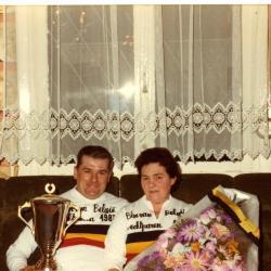Kampioenen krulbol voor echtparen, Pauwels Valere-Wytinck Irene, 1983