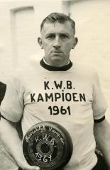 Kampioen krulbol KWB, Albert Vereecke,1961