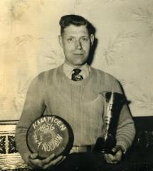 Kampioen krulbol van 't Noorden, Albert De Backer