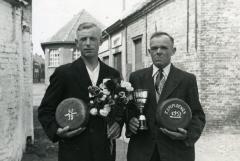 Kampioenen krulbol, Louis Scheir en Cyriel Pycke