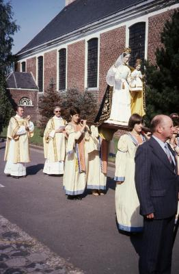 Processie kerk, Lembeke