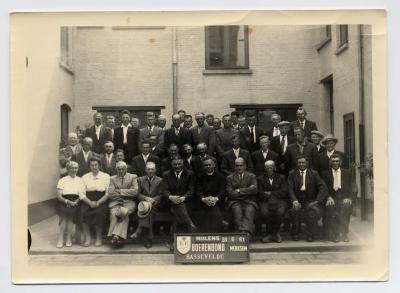Bezoek aan molens Merksem, Boerenbond Bassevelde