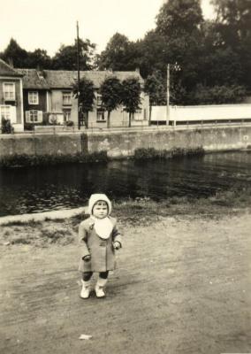 Gaby Coppens aan kanaal