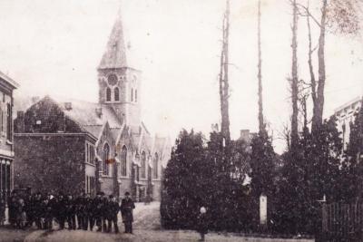 Kerk en dorp Lovendegem