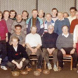 Groep krulbolders, papierfabriek Langerbrugge