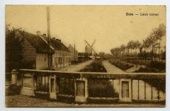Postkaart zicht op De Lieve, Zomergem
