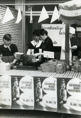 Stand Heemkundige Kring, Safarkesmarkt, Wachtebeke, 1979