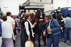 Paardentram, Safarkesmarkt, Wachtebeke, ca. 1982