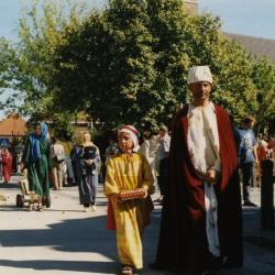 Drie koningen in de processie van Rieme, 2003(III)