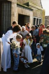 Huwelijkmis van Johan Van Caenegem en Bernadette Pieters (III), 1988