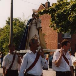 Processiebeeld van Maria in de processie van Rieme, 2003 (I)