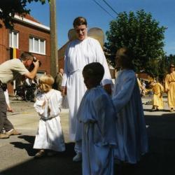 Engelen in de processie van Rieme, 2003 (II)