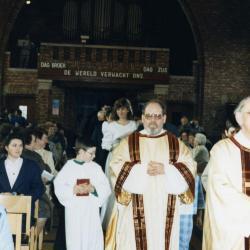 Huwelijkmis van Johan Van Caenegem en Bernadette Pieters (IV), 1988