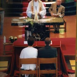 Huwelijk van Sofie Van Eesvelde en Kurt Moens (III), 1999