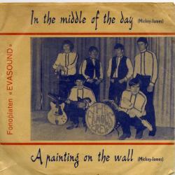 Platenhoes van single plaat van The Famous Crew uit Langerbrugge
