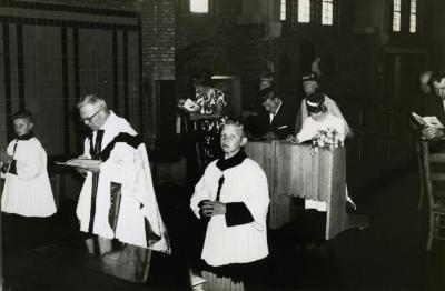 Huwelijk Moens-Boone (VIII), 1964