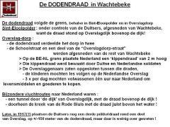 Doodendraad Wachtebeke-Overslag, WO1