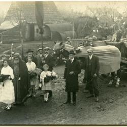Inhuldigingsstoet voor pastoor Bouuaert, 1928 (VIII)