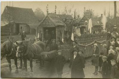 Inhuldigingsstoet voor pastoor Bouuaert, 1928 (XII)