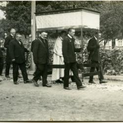 Inhuldigingsstoet voor pastoor Bouuaert, 1928 (VII)