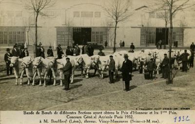Eerste prijs voor Léon Boufflerd, 1932