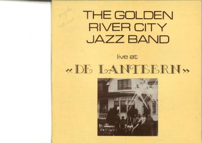 LP-hoes The Golden River City Jazz Band, Zomergem, 1980