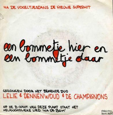 Single-hoes Lelie & Dennenwoud & De Champignons,  Zomergem, 1980-1990