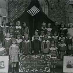 Vakschool, Zelzate, 1930-1940