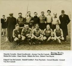 Ploegfoto van Harop in KKVS, Knesselare, circa 1940