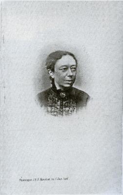 Portret Octavie Groverman, Langerbrugge, 1864
