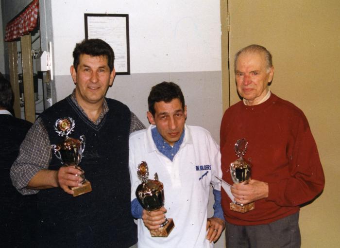 Huldiging krulbolders, Deliaert Freddy, Mimmo Piedro, De Somviele Robert
