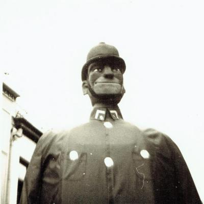 Reus Berten De Pompier uit Eeklo