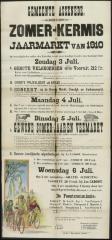 Zomerkermis en Jaarmarkt van 1910 Assenede