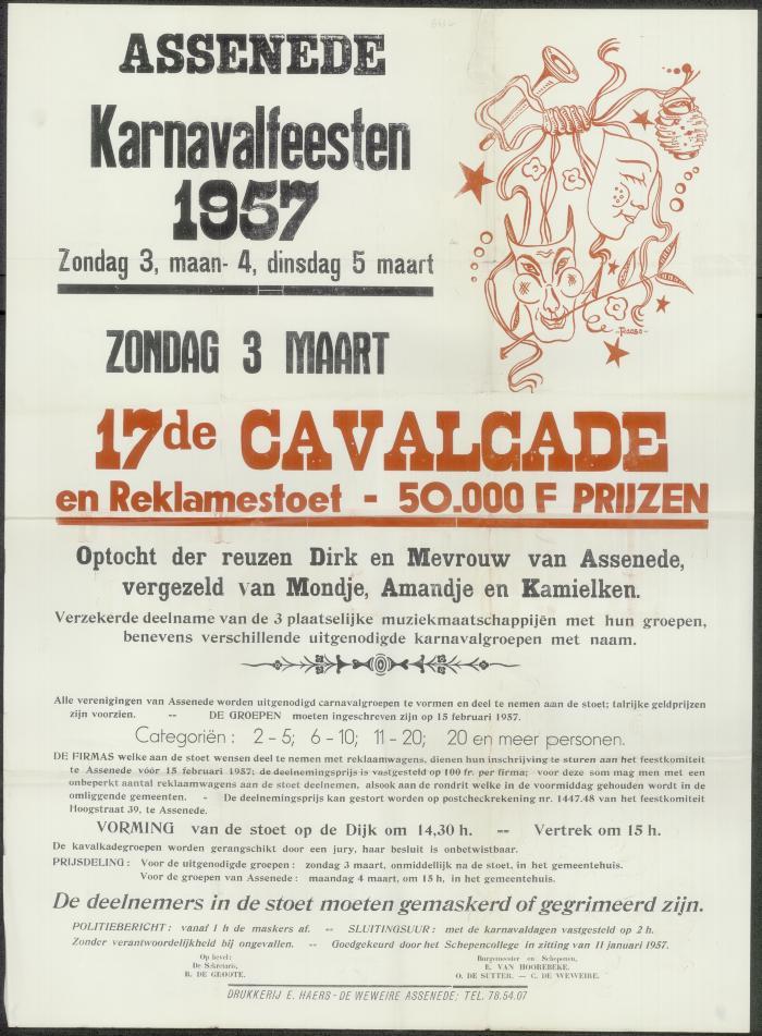 17de cavalcade en reklamestoet Assenede