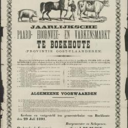 Zomer jaar- en veemarkt Assenede