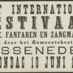 Groot internationaal festival voor harmonien, fanfaren en zangmaatschappijen Assenede