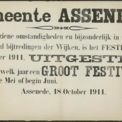 Festival uitgesteld Assenede